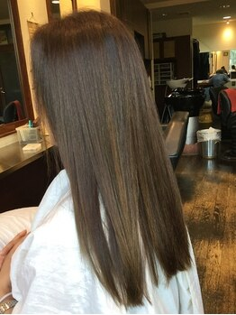 ヘアー クレアシオン 髪工房(Hair Creation)の写真/ハホニコトリートメントでウル艶仕上がり♪度重なったダメージにはトリートメントでしっかり補修◎