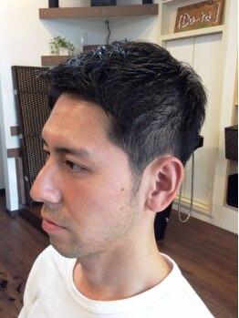 アキツ ヘアメイク ドーラ(Akitsu Hair Make Do ra)の写真/旬のメンズスタイルが手に入る♪ハサミやバリカンを使用したテクニックでカッコ良くキマル!!