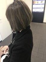ロンド ジュルード 名古屋(Lond jeloud)【Lond jeloud】矢井一輝 ハイライトカーキグレージュ