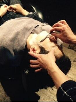 クオンヒール(QUON HEAL)の写真/【谷四/メンズサロン】各種グルーミングメニューに加えて、ヘッドスパも本格的!頭皮ケアで健康的な髪に...