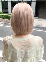 シャチュー(SHACHU)【MORIYOSHI】艶髪・透明感☆外国人風ミルクティーブロンド