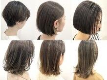 ヘアーデザイン ハピネス(hair design Happiness)の雰囲気(高いデザイン力と、心のこもったおもてなしに定評があります。)