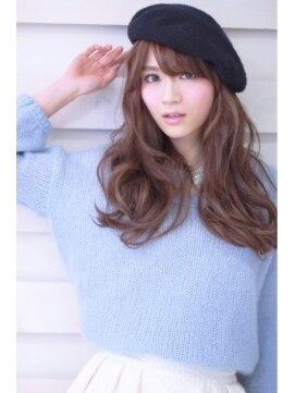 オーロ 武庫之荘店(ORO)大人可愛いベレー帽ロング