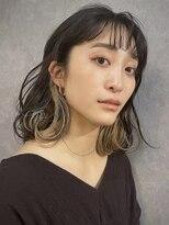 イトシテ【 ペールベージュ × インナーカラー 】浅野美紀