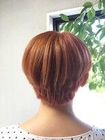 ヘアーメイク プリュム(Hair make Plume)濃厚オレンジ