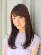オーケストラ 渋谷(ORCHESTRA)板橋美奈ちゃん傷まないストレートに前髪パーマで髪質改善☆