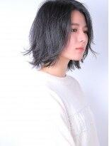 ヘアメイクエシェル 小松店(Hair Make e‐shell)外ハネボブ