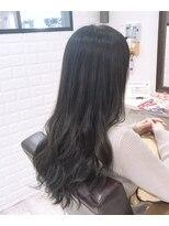 ルルカ ヘアサロン(LuLuca Hair Salon)LuLucaお客☆スナップ ダークトーンのブルーグレーカラー