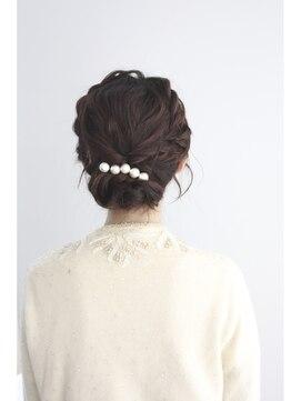 LDKヘアー 大宮(LDK hair)*結婚式・パーティ・二次会*編み込みヘアアレンジ【LDK hair】