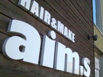 ヘアメイク エイムズ シュアーニューエイジ(HAIR&MAKE aim.s SUR UN NUAGE)の写真