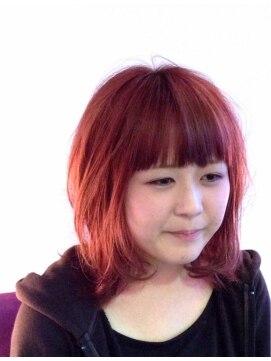 ヘアーカーブ(haircarve)haircarve秋冬・ドーリィピンク・ローズブラウン★