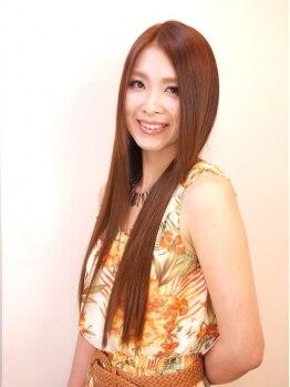 """ジジヘアー(jiji hair)の写真/""""jiji""""のストレートは、思わず触りたくなる質感☆施術すればするほど美髪☆うるつやのストレートヘアに…"""