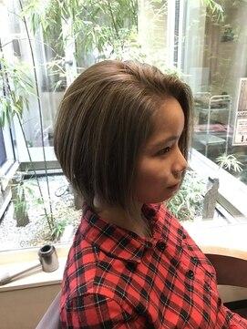 ガーデン ヘアー ワーク(garden hair work)ハイライト☆カラー