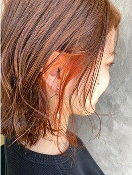 ヘアーメイク グレース 本店(HAIR MAKE GRACE)の写真/ツヤが出るカラーと大好評♪豊富な薬剤と経験豊富の技術でトレンドのカラーからベーシックなカラーまで◎