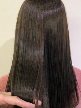 ルッカ(RUCCA)の写真/【南船場/21時迄営業】話題の髪質改善MENU取扱◇一瞬で憧れの美髪にチャージ!サイエンスアクアなど新MENU◎