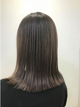 リゾーム 新小岩店(Rhizome)の写真/縮毛矯正専門店が提案する[ダメージレストリートメント]縮毛矯正はもちろんカラーにも艶感◎