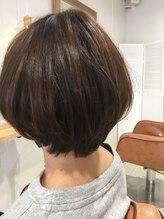 ゲリール 中野店(guerir hair+care)大人可愛いショートボブ