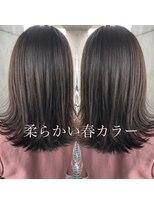 シキオ ヘアデザイン(SHIKIO HAIR DESIGN FUK)ヌーディカラー