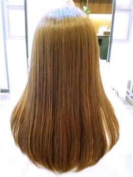 ヘアショップアルファの写真/こだわりのトリートメントで、自分のなりたいうるツヤ髪を目指せる♪極上の手触りを体験してみてください★