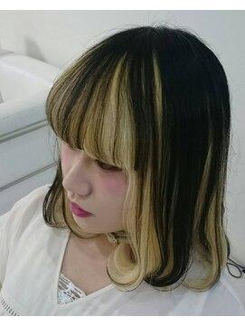 ツートンカラーボブ L ヘアメイク マキア Hair Make Maquia のヘアカタログ ホットペッパービューティー