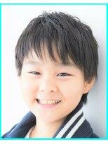 髪質改善・前髪部分縮毛矯・前髪アシメ・小学生・中学生・高校生