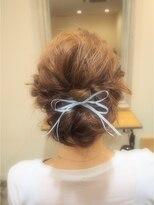 ミエルヘアーアンドスパ(miel hair&spa)◆miel◆ 大人girly 上品ルーズ ヘアセット