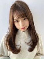 アフロート ワールド 渋谷(AFLOAT WORLD)渋谷アフロート 張替 流しやすい前髪 ワンカールもしやすく