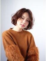 シアン ヘア デザイン(cyan hair design)【透明感No1】柔らかニュアンスボブ