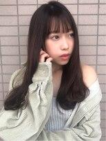 ファミーユ(famille)famille・イメチェン髪質改善ストカール☆薄めぱっつん小顔前髪