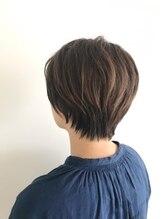ヘアーストーリー ノビア(Hair Story Novia)【Novia】 クセ毛ふんわりショート 【西田 優】