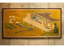 プレアー(PRAYER)の雰囲気(贅沢な金屏風がサロンの雰囲気を引き立てます。)