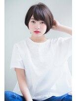 アンアミ オモテサンドウ(Un ami omotesando)【Unami】 小倉太郎 大人ひし形ショートボブスタイル