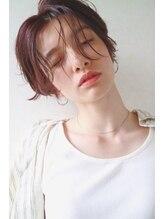 リンネルヘアー 名駅店(Rin:nel hair)ハンサムショート/耳かけショート/センターパート/