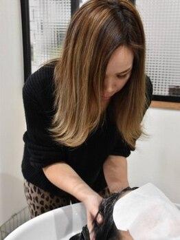 ヘアールーム スイッチ(hair room Switch)の写真/【11月13日OPEN】クールメントールとホットジェルの温冷浴スパで頭皮環境を整え、すっきりリフレッシュ♪