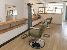 2席のみの美容室 アナイス(Anaiss)の雰囲気(店内は半個室にできるのでプライベート空間に【貸切も対応可】)