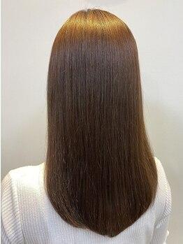 リゾーム 新小岩店(Rhizome)の写真/[リピータ多数!]ダメージレ ス講習受講◎豊富な知識で髪質改善Menu♪健康的で美しい髪へ[新小岩/髪質改善]