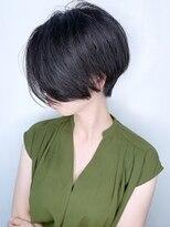 ラウンジ モリオ イケブクロ(Lounge MORIO Ikebukuro)【morio池袋】大人可愛い前下がり透け感ショート♪