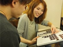 美容サロン シオン 菊水店の雰囲気(優しいスタイリストだから相談もしやすい♪)
