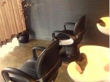 ビーナスアートヘア 五日市店(Ve nus ART HAIR)の雰囲気(セット面から見えないようになっているシャンプー台。)