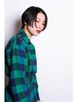 マウロア(MAULOA)【MAULOA】黒髪ハンサムショートモードへア