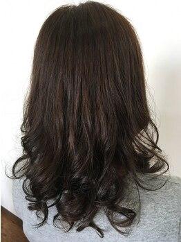 """ヘアー ベル フルール(HAIR Belle fleur)の写真/ふんわりカールは当店人気◎の""""リカール¥5940~""""で★傷みやボリュームを抑え、ケアしながらカール形成♪"""