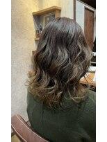 セブン ヘア ワークス(Seven Hair Works)[カラーベーシック]ブリーチなしベージュ系カラー