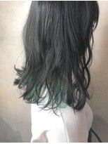 インナーカラー グリーン