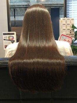 髪質改善ヘアエステ ライフ(LIFE)の写真/【すべてのメニューが髪質改善ヘアエステ】パーマやカラーを繰り返すほど、髪がキレイに扱いやすくなる☆