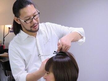 ヘアーサロン シュクル(hair salon sucru)の写真/【Inoueコンテスト/ジャーナル賞受賞】伸びてきても崩れないカット技術がママに大人気◎大人ボブが評判♪