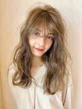 ラファンジュ ヘアーブラン(Rohange hair Blanc)ヌケ感ウェーブロング☆