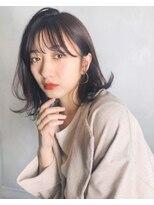 ガーデン アオヤマ(GARDEN aoyama)豊田楓 柔らかミディアム レイヤー 艶カラー 髪質改善 小顔