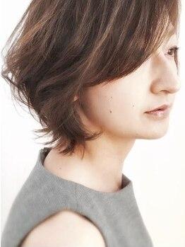"""グランディール(Grandir)の写真/【豊中駅】話題の""""Rカラー""""取扱い店◆いつものカラーをダメージレスに!染めるたびに艶やかな髪へ。"""