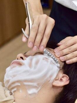 ケースタイル ヘアスタジオ 有楽町本店(K-STYLE HAIR STUDIO)の写真/印象UP間違いなし!完璧な身嗜みで清潔感あふれる本物の男へ。メンズ特化サロンでぜひ1度ご体感ください