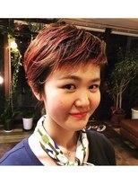 コレット ヘアー 大通(Colette hair)デザインカラー×ショート
